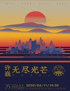 2020许巍苏州演唱会