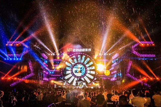 """2019年度云台山音乐节将以""""森林野性""""为主题拉开此次音乐节活动的图片"""