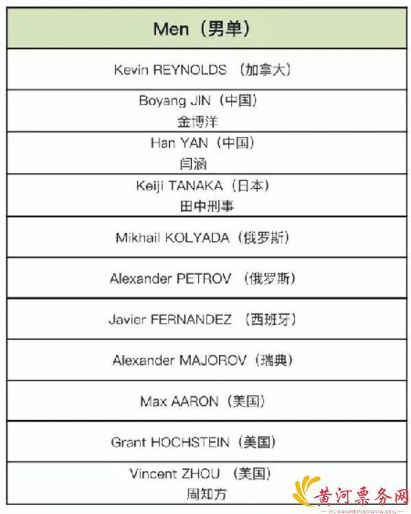 2017中国杯世界花样滑冰北京大奖赛
