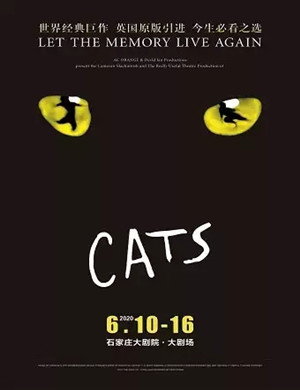 2020音樂劇貓CATS石家莊站