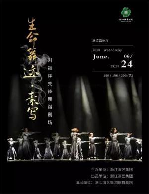 2020舞蹈剧生命舞迹素写杭州站