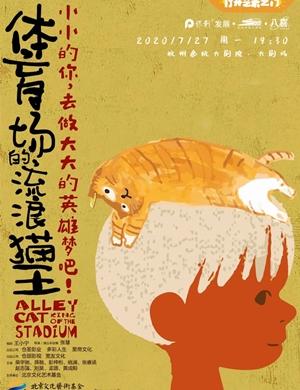 儿童剧《体育场的流浪猫王》杭州站