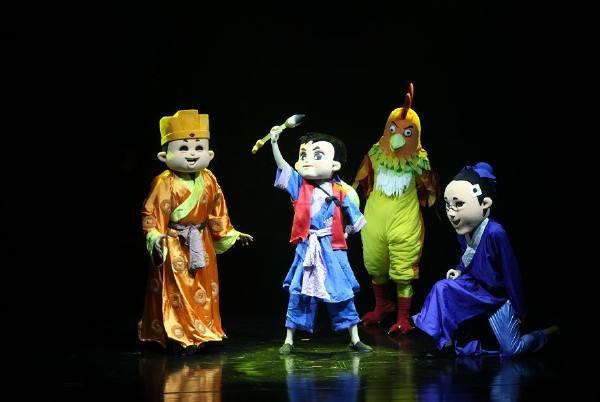 2020人偶剧《新神笔马良》重庆站