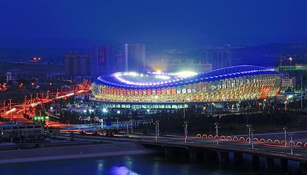 赤峰市体育中心体育馆