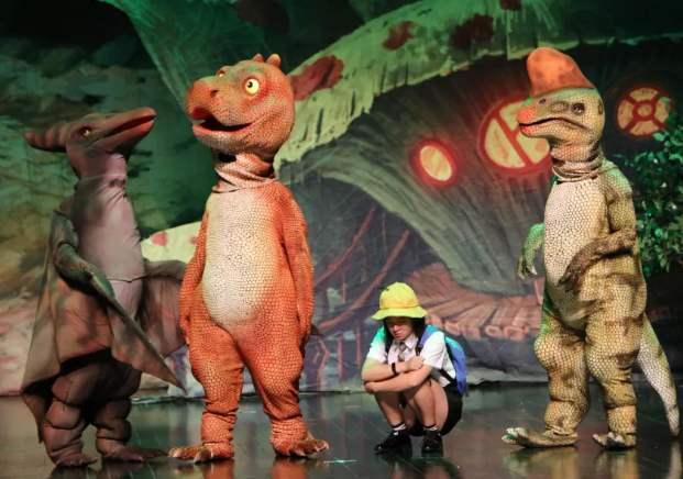 儿童剧《侏罗纪时代》
