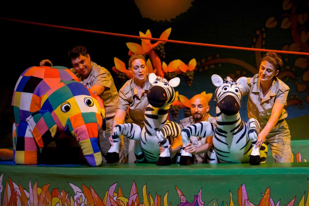 2021英国绘本音乐剧《花格子大象艾玛》(中文版)-杭州站