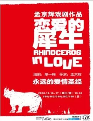 2020戏剧《恋爱的犀牛》宁波站