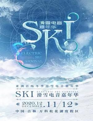2020吉林亚洲首场冬季SKI滑雪电音嘉年华