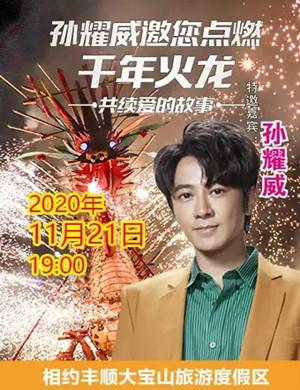 2020孙耀威梅州大宝山千年火龙