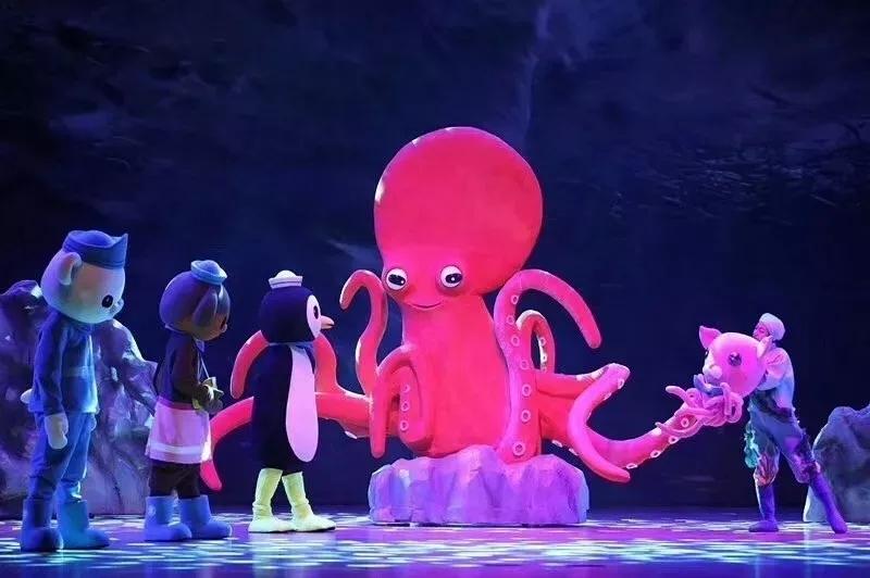 2021英国BBC正版授权互动儿童剧《海底小纵队之深海探秘》-青岛站