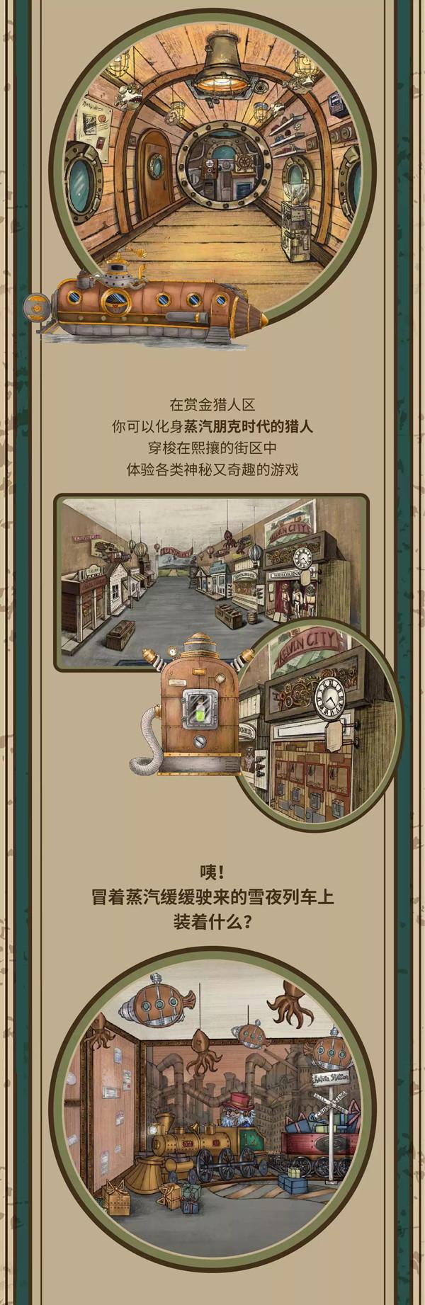 2020「消失的小镇」首个沉浸式蒸汽朋克主题馆-上海站