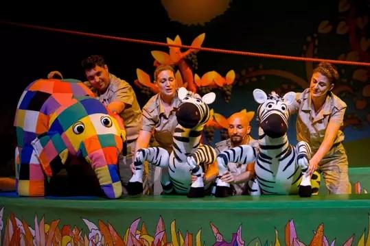 2021英国绘本音乐剧《花格子大象艾玛》(中文版)-贵阳站