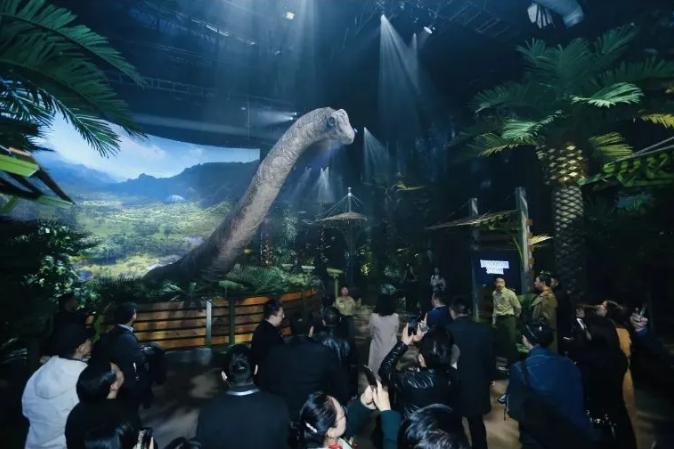 2021侏罗纪世界电影特展-成都站