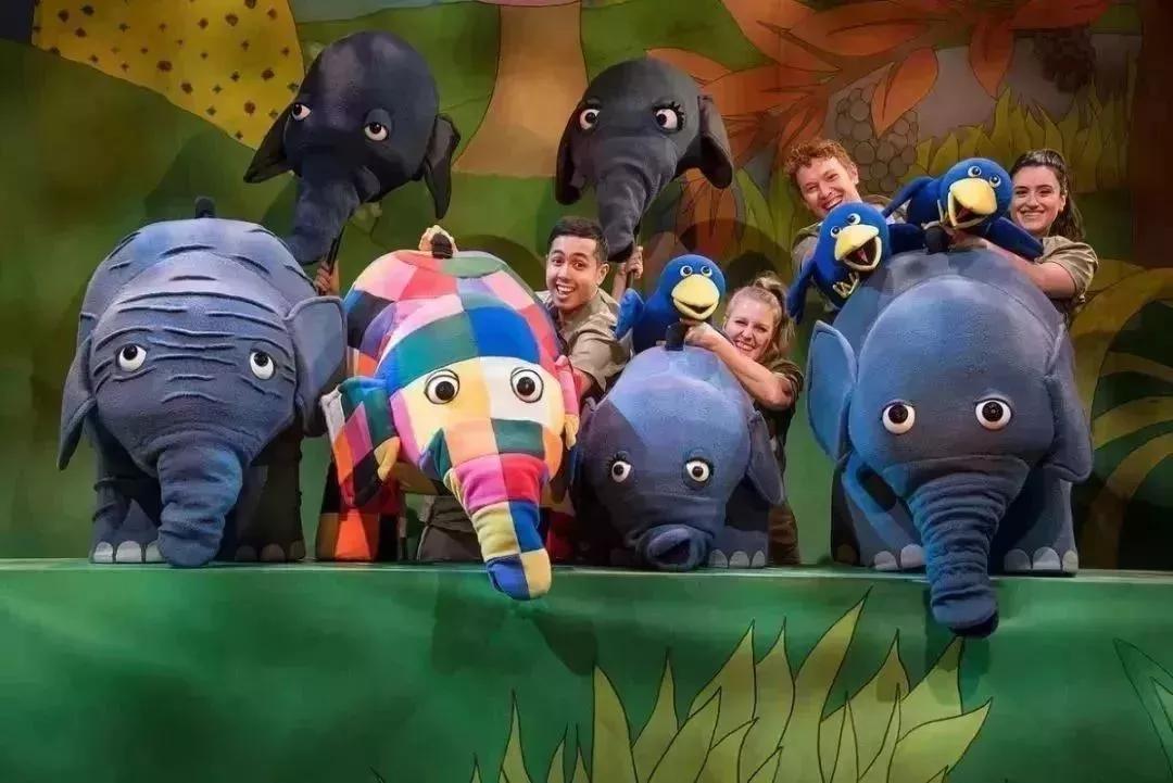 2021英国绘本音乐剧《花格子大象艾玛》(中文版)-昆明站