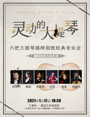 2021灵动的大提琴北京音乐会
