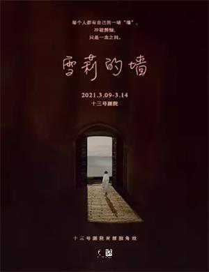 2021话剧《雪莉的墙》广州站
