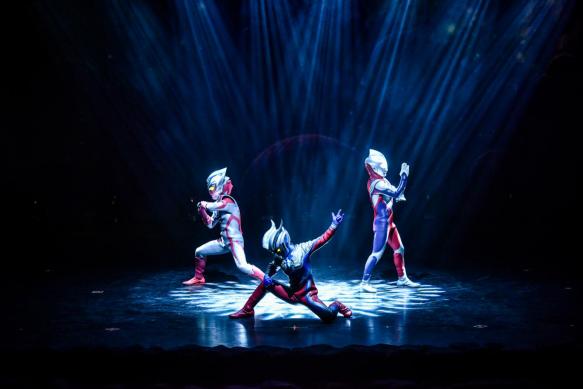 2021大型实景舞台剧《奥特传奇之英雄归来》郑州首演