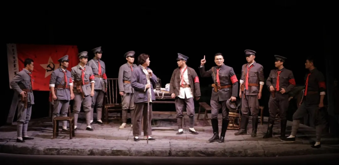 2021年国家话剧院原创话剧《三湾,那一夜》-鞍山站