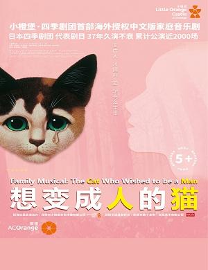 音乐剧《想变成人的猫》郑州站