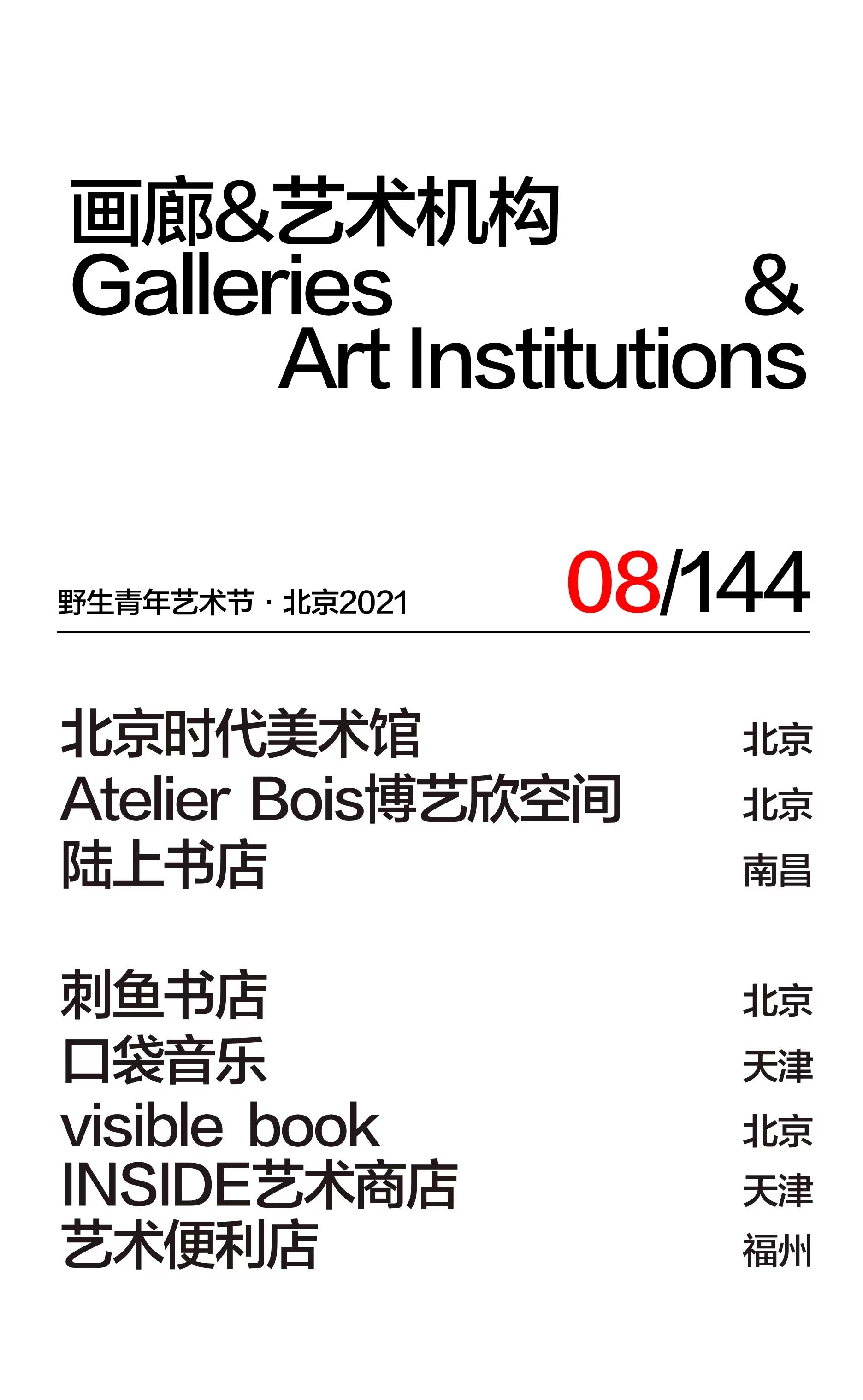 2021野生青年艺术节-北京站