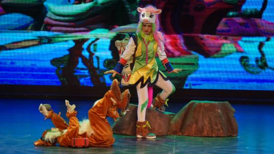 2021大型原创动漫人偶童话剧《小马过河》-郑州站