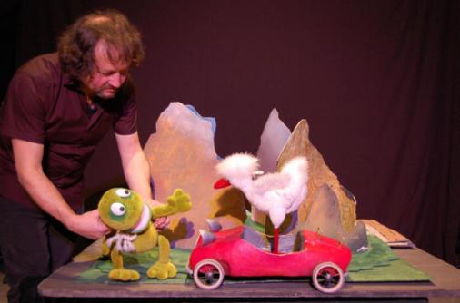2021比利时&中国丨桌面布偶绘本剧《开跑车的小青蛙》-成都站
