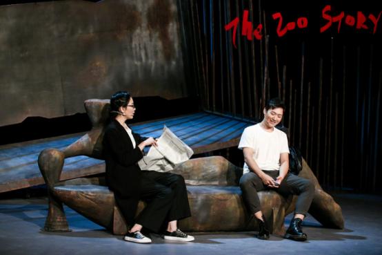 2022大船文化·美国经典荒诞话剧《动物园的故事》-北京站