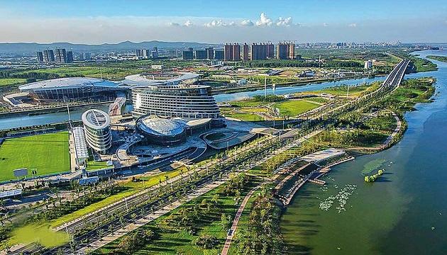 南京青奥体育公园体育馆