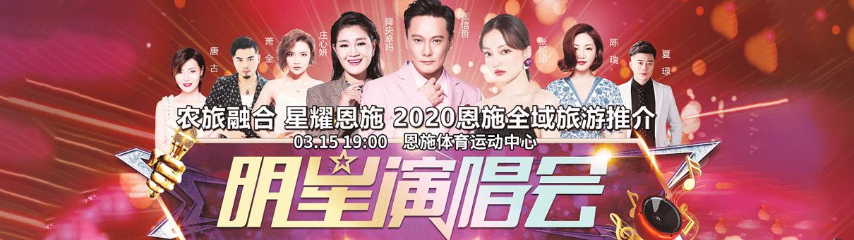 2020张信哲张韶涵恩施群星演唱会