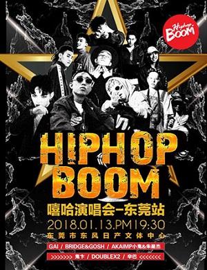 【东莞】2018 HipHop Boom 嘻哈演唱会-东莞站