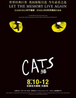 【石家庄】世界经典原版音乐剧《猫》Cats 石家庄站
