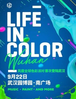 【武汉】Life in Color(LIC)电音节 2018 武汉站