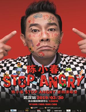 【武汉】2019陈小春STOP ANGRY巡回演唱会-武汉站