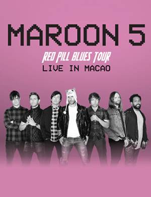 2019MAROON 5 RED PILL BLUES TOUR 澳门站
