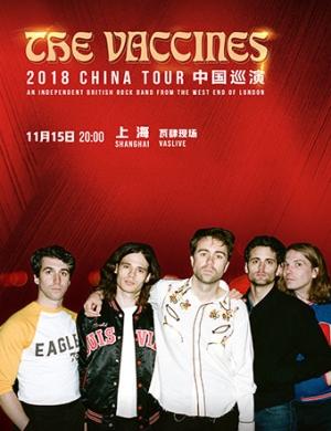 【上海】The Vaccines 2018巡演上海站