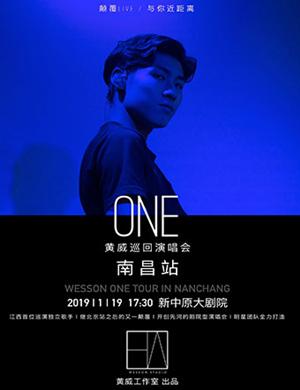 """2019黄威""""ONE""""巡回演唱会-南昌站"""