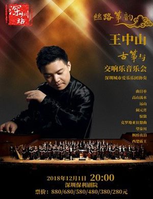 王中山与交响乐深圳音乐会