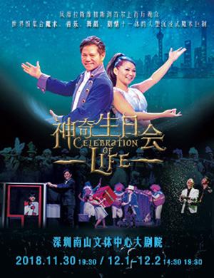 【深圳】2018神奇生日会 新加坡大型魔术SHOW-深圳站