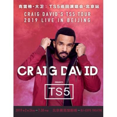 2019Craig David克雷格·大卫:TS5巡回演唱会-北京站