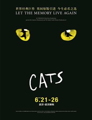 2019年世界经典原版音乐剧《猫》CATS —武汉站