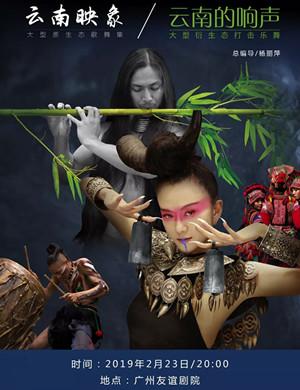 【广州】2019杨丽萍出品大型原生态歌舞集《云南映象》大型衍生态打击乐舞《云南的响声》-广州站