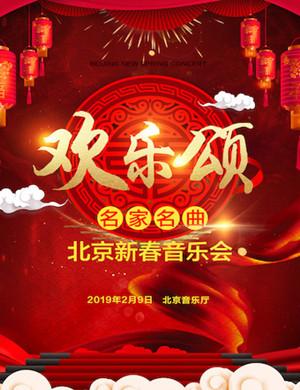 2019欢乐颂—名家名曲新春音乐会-北京站