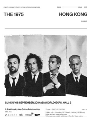 2019The 1975 Live in Hong Kong