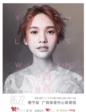 """2019杨丞琳""""青春住了谁Youth Lies Within""""世界巡回演唱会-南宁站"""