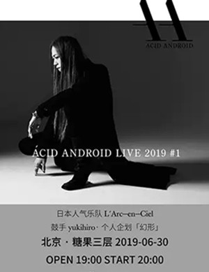 2019ACID ANDROID北京演唱会