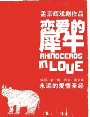 2021话剧《恋爱的犀牛》武汉站