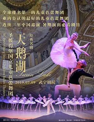 2019芭蕾舞天鹅湖九江站