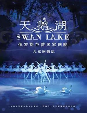2019芭蕾舞剧天鹅湖郑州站