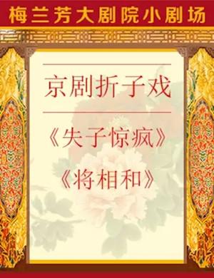 2019京剧失子惊疯将相和北京站