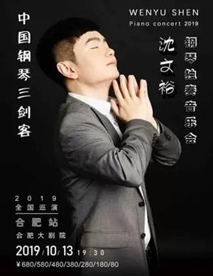 2019沈文裕钢琴独奏音乐会巡演-合肥站